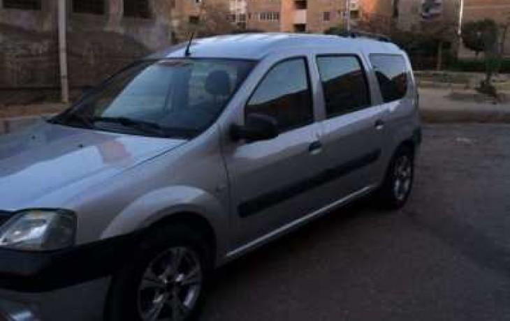 سيارة رينو لوجان للبيع في مصر 7 راكب دوبارتر