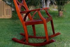 Wooden Rocking Chair / كرسي هزاز