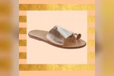 slipper gold/سليبر ذهبي