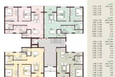 شقة للبيع في B7 مساحة 96 م فيو شارع رئيسى