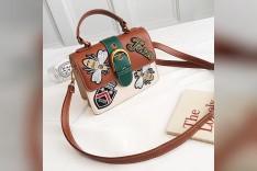 Brown box Hand Bag