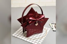 Red Star Bag with Bow