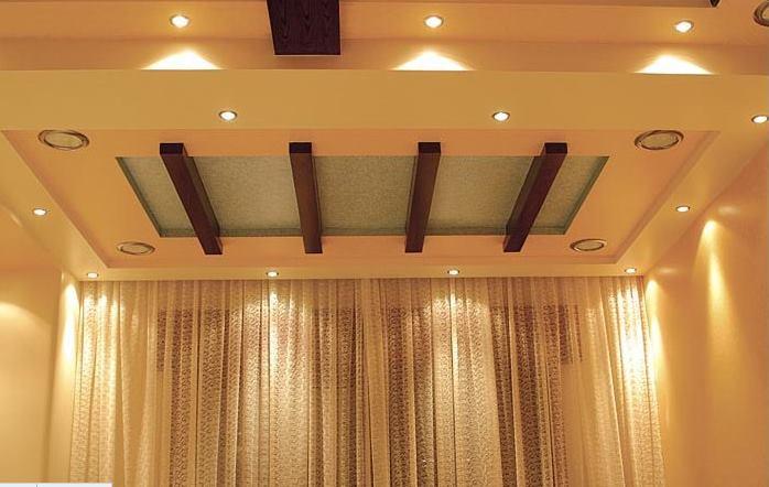 اسقف معلقة بسيطة حديثة