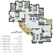 خرائط منازل و دور بتصميمات هندسية عراقية - دوبارتر