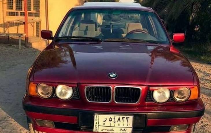 سيارة بى ام دبيلو 525 موديل 1992 حالة ممتازة للبيع دوبارتر