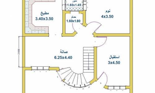 خرائط بيوت 100 متر 10 10 عراقية مودرن 2019 دوبارتر
