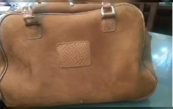 0cff76ad9 شنطة سفر جلد طبيعي من دبي - دوبارتر